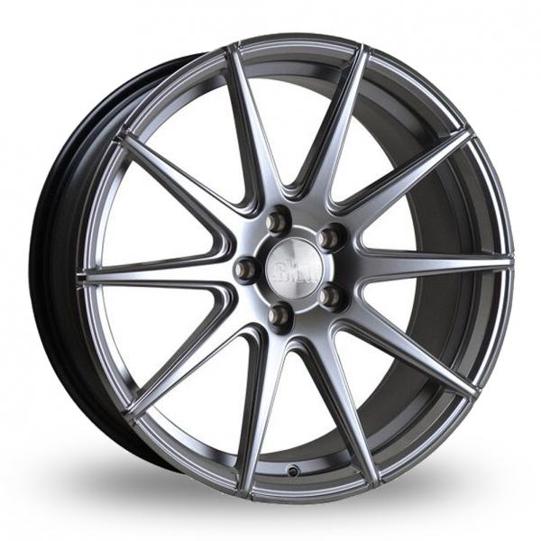"""18"""" Bola CSR Silver Alloy Wheels"""