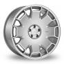 19 Inch Ispiri CSR2 Silver Alloy Wheels