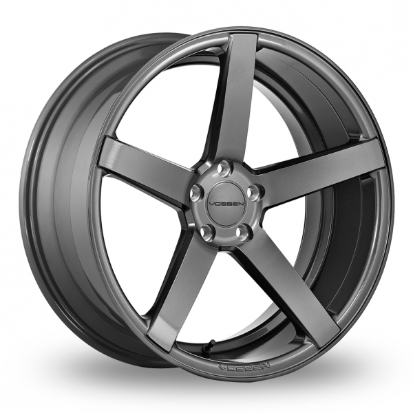 "Picture of 20"" Vossen CV3R Gloss Graphite Wider Rear"