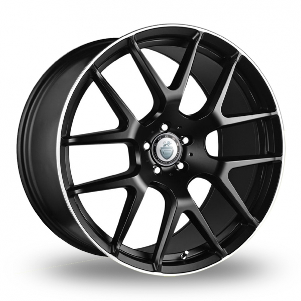 Cades Comana Black Polished Rim