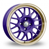 Cades Cadesbury Purple Alloy Wheels