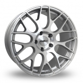 Calibre CC-M Hyper Silver Alloy Wheels