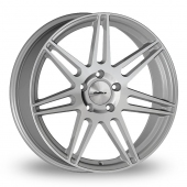 Calibre CC-R Hyper Silver Alloy Wheels