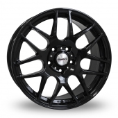 Calibre Exile Gloss Black Alloy Wheels