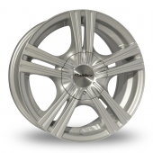 Calibre Metro Silver Alloy Wheels