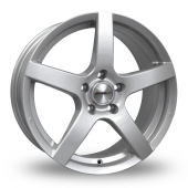 Calibre Pace Silver Alloy Wheels