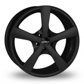 Calibre Panik Matt Black Alloy Wheels