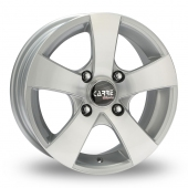 Carre Galland Silver Alloy Wheels