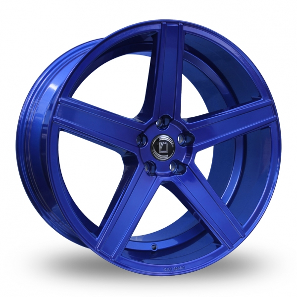 "Picture of 20"" Diewe Cavo Blue Wider Rear"