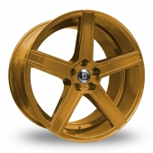 Diewe Cavo Gold Alloy Wheels