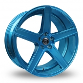 Diewe Cavo Ice Blue Alloy Wheels
