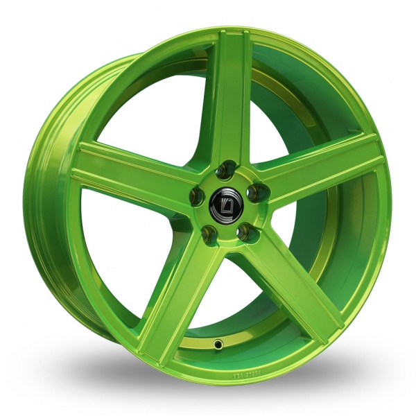 "Picture of 19"" Diewe Cavo Yellow/Green Wider Rear"