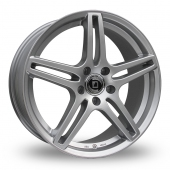 Diewe Chinque Silver Alloy Wheels
