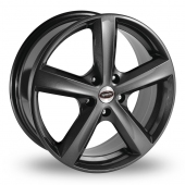Team Dynamics Cyclone Anthracite Alloy Wheels
