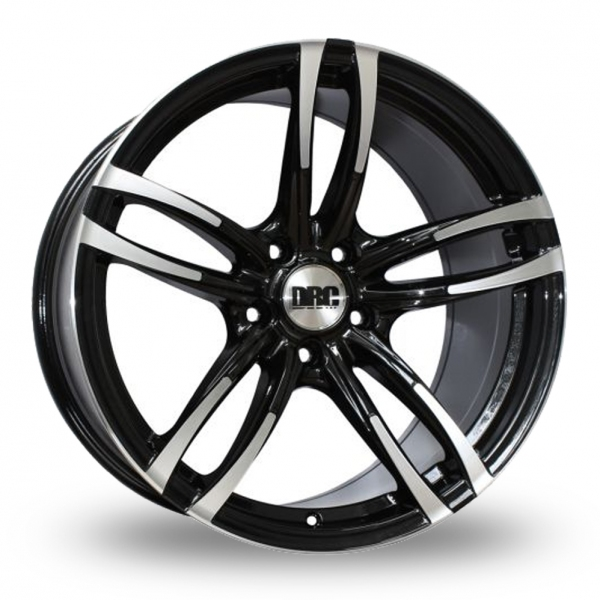 "Picture of 18"" DRC DMF Black/Polished Wider Rear"