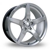 Riva DBZ Hyper Silver Alloy Wheels