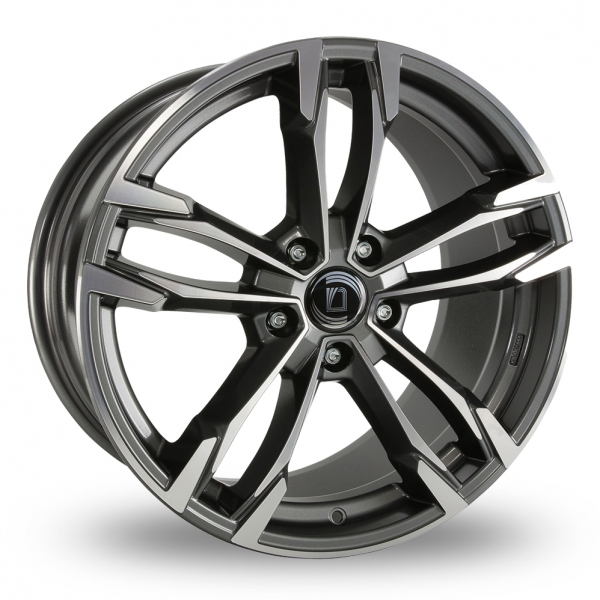 "Picture of 19"" Diewe Avio Graphite/Polished Wider Rear"