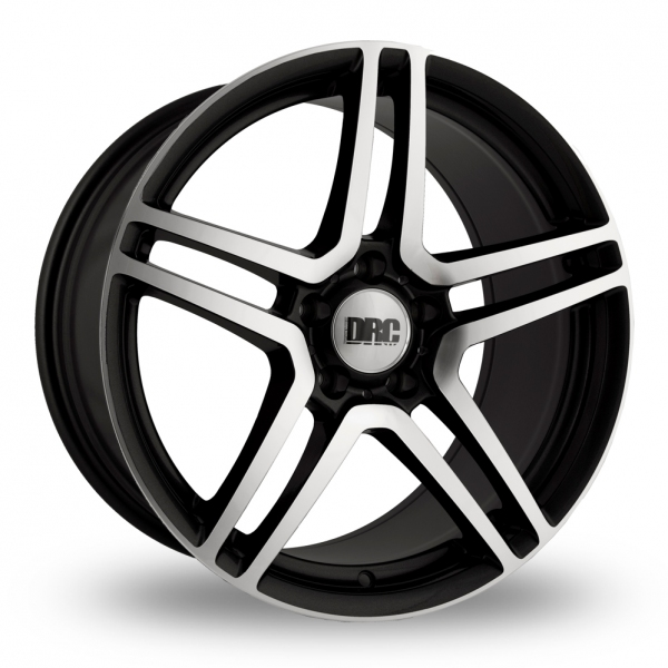 "Picture of 18"" DRC DMG Black/Polished Face Wider Rear"