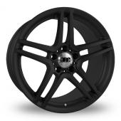 DRC DMG 5x112 Wider Rear Matt Black Alloy Wheels
