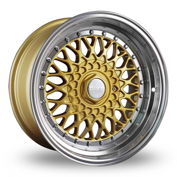 """Picture of 16"""" Dare DR-RS Gold Chrome Rivets"""