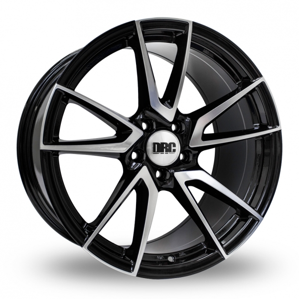 "Picture of 19"" DRC DLA Black/Polished Face Wider Rear"