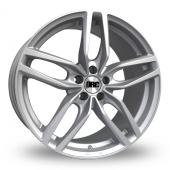 DRC DRS Silver Alloy Wheels