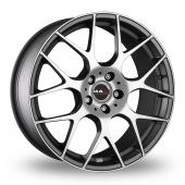 MAK DTM One Anthracite Polished Alloy Wheels