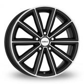 Dezent TM Black Polished Alloy Wheels