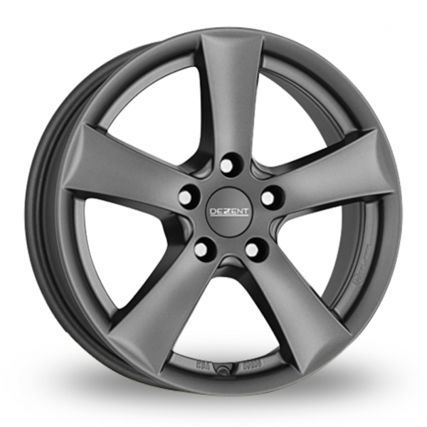 "Picture of 17"" Dezent TX Matt Graphite Wider Rear"