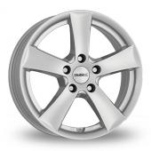 Dezent TX Silver Alloy Wheels