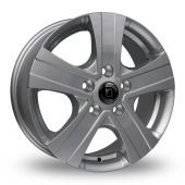 Diewe Massimo Silver Alloy Wheels