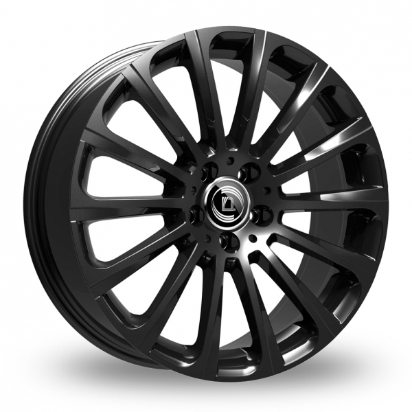 "Picture of 18"" Diewe Turbina Black Wider Rear"