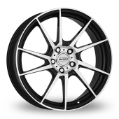 Dotz Kendo Black Polished Alloy Wheels