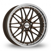 Dotz Revvo Bronze Polished Alloy Wheels
