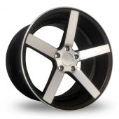 AC Wheels Drag 54 Matt Black Alloy Wheels