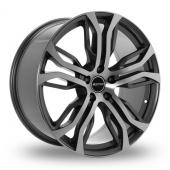 GMP Italia Dynamik Anthracite Polished Alloy Wheels