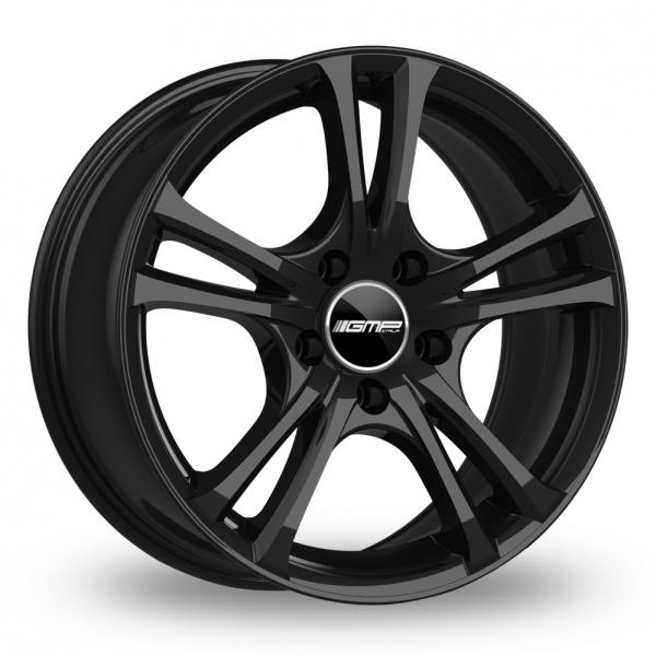 "15"" GMP Italia Easy-R Gloss Black Alloy Wheels"