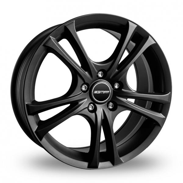 "16"" GMP Italia Easy-R Matt Black Alloy Wheels"