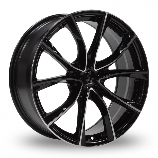"""Picture of 18"""" Lenso ESE Black/Polished"""