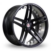 Axe EX20 Matt Black Alloy Wheels