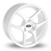 Team Dynamics Eagle White Alloy Wheels