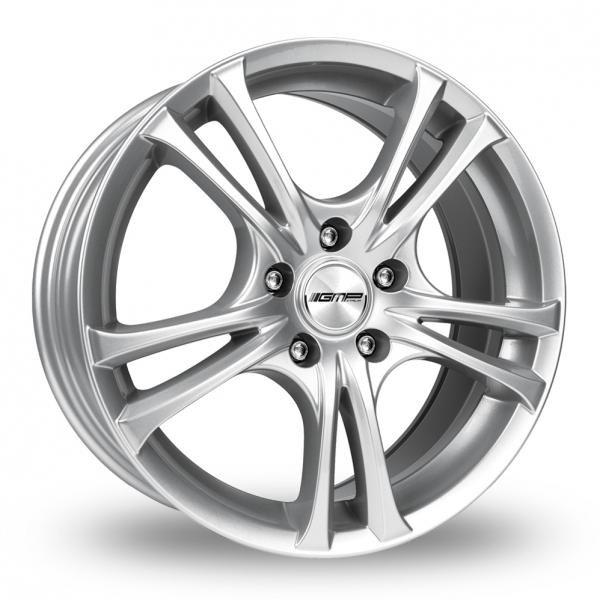 """17"""" GMP Italia Easy-R Silver Alloy Wheels"""