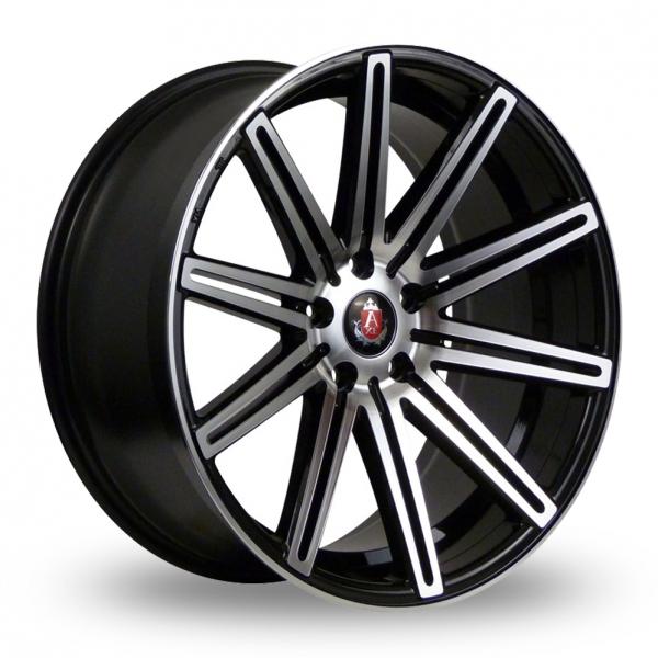 20 Inch Axe EX15 Black Polished Alloy Wheels