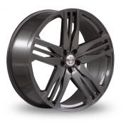 Axe EX22 Grey Alloy Wheels