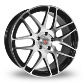 Calibre Exile Black Polished Alloy Wheels