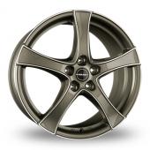 Borbet F2 Graphite Polished Alloy Wheels