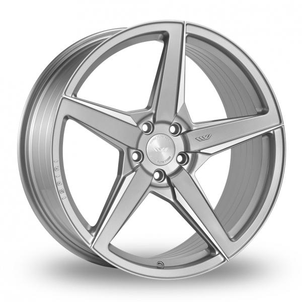 20 Inch Ispiri FFR5 Silver Alloy Wheels