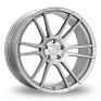 20 Inch Ispiri FFR7 Silver Alloy Wheels