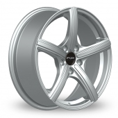 Fox Racing FX006 Silver Alloy Wheels