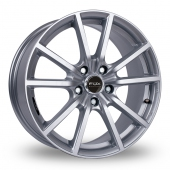 Fox Racing FX10 Hyper Silver Alloy Wheels